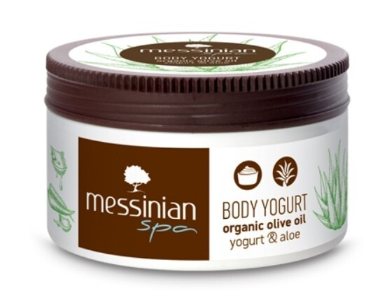 Zobrazit detail výrobku Messinian Spa Tělový krém jogurt & aloe vera 250 ml