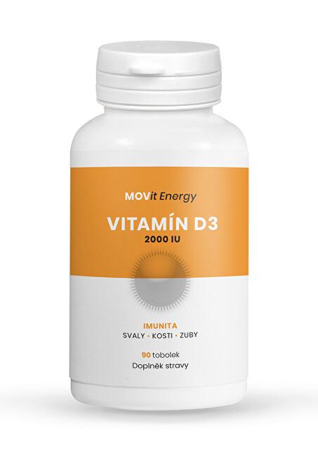 Zobrazit detail výrobku MOVit Energy Vitamin D3 2000 I.U., 50 ucg, 90 tobolek
