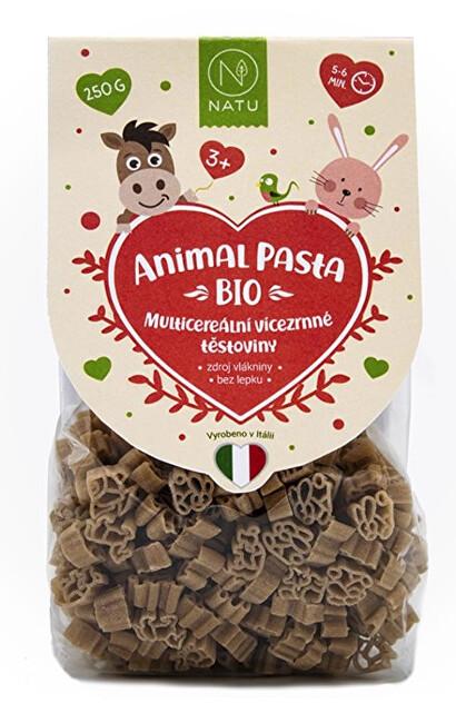 Animal Pasta Multicereální vícezrnné těstoviny BIO 250 g