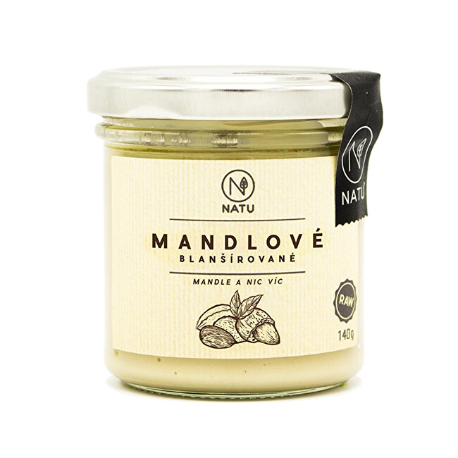 Zobrazit detail výrobku Natu Mandlový krém blanšírovaný 140 g