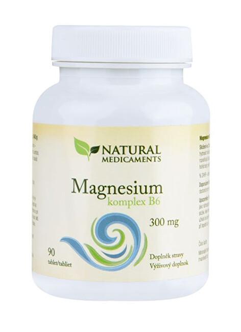 Zobrazit detail výrobku Natural Medicaments Magnesium ( hořčík ) B6 komplex 90 tablet