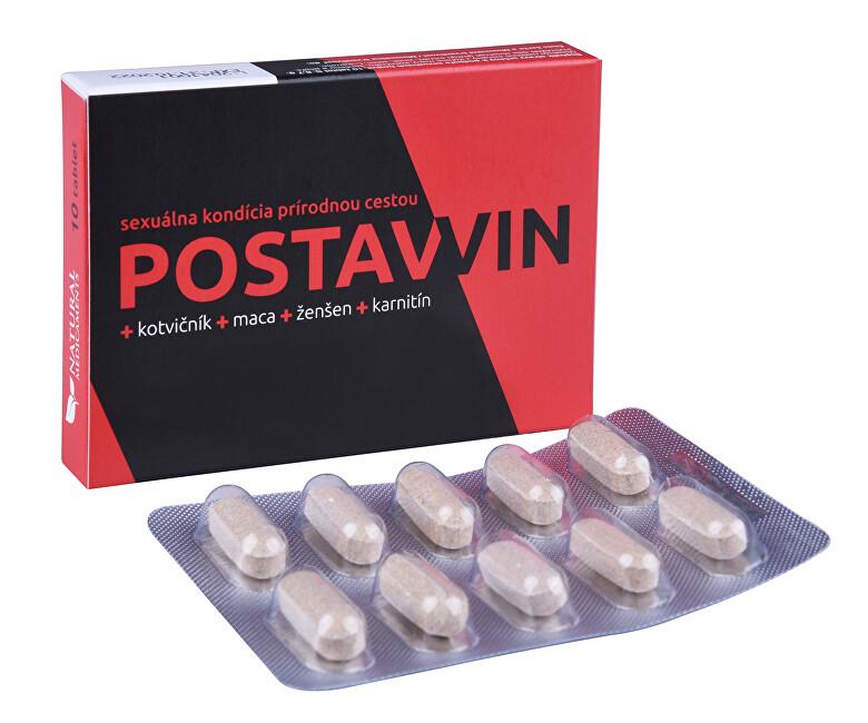 Zobrazit detail výrobku Natural Medicaments Postawin 10 tablet