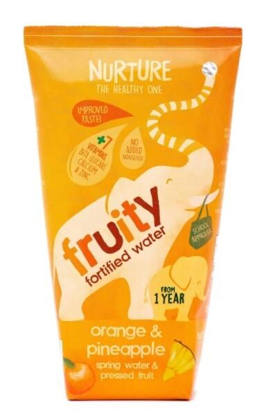 Zobrazit detail výrobku Nurture Fruity Fortified Water Orange & Pineapple 200 ml