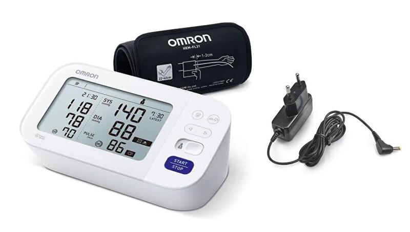 Zobrazit detail výrobku Omron Tonometr M6 Comfort (2020) s AFib + adaptér