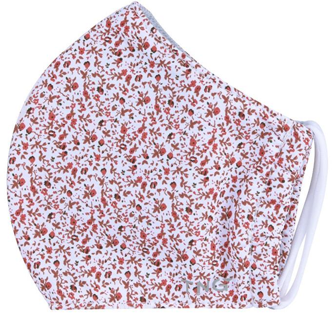 Zobrazit detail výrobku Pharma Activ Rouška textilní 3-vrstvá květinová 1 ks vel. S
