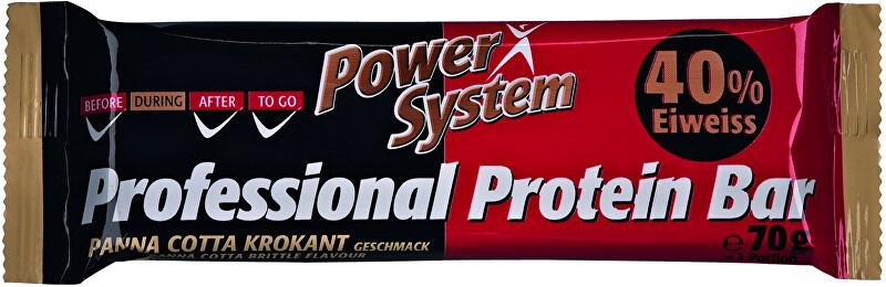 Zobrazit detail výrobku Power System Professional Protein Bar 40% Panna-Cotta Brittle 70 g