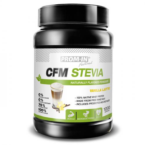 Zobrazit detail výrobku Prom-in CFM Stevia 1 kg Vanilla latte