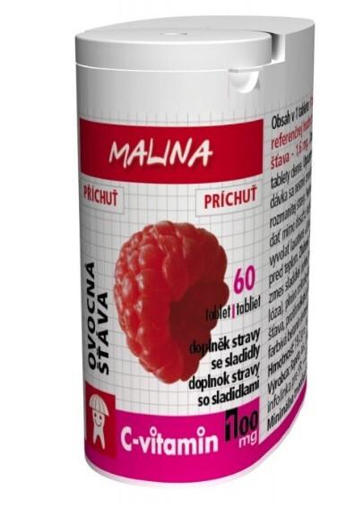 Zobrazit detail výrobku Rapeto C Vitamin Malina 60 tablet