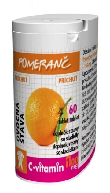 Zobrazit detail výrobku Rapeto C Vitamin Pomeranč 60 tablet