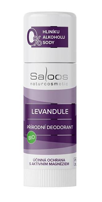 Zobrazit detail výrobku Saloos Bio přírodní deodorant Levandule 50 ml