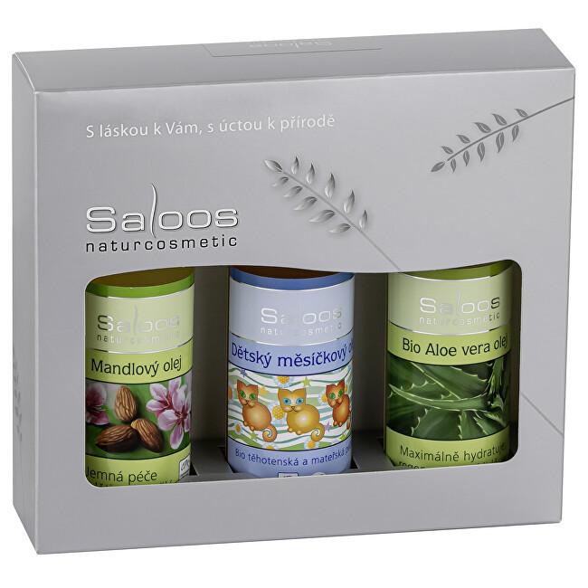 Zobrazit detail výrobku Saloos Dárkový balíček Mandlový & Dětský měsíčkový & Aloe vera