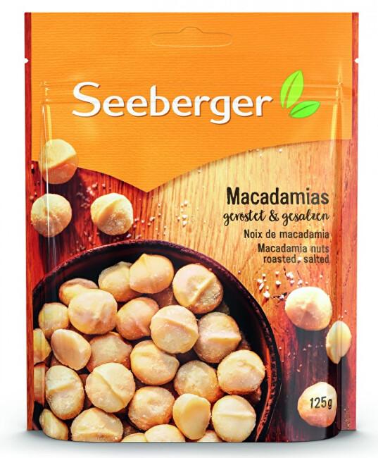 Zobrazit detail výrobku Seeberger Makadamové ořechy pražené a solené 125 g