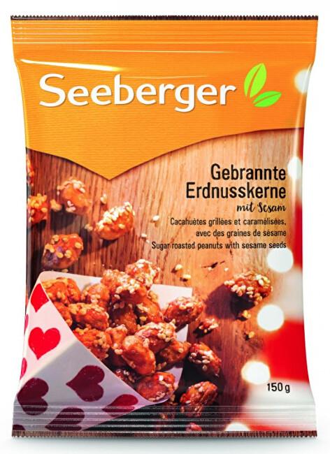Zobrazit detail výrobku Seeberger Pražené arašídy v cukru se sezamovými semínky 150 g