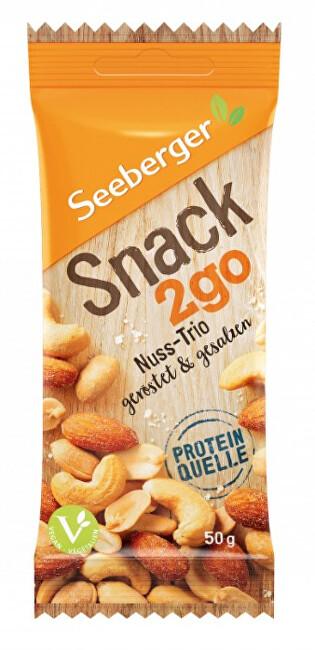 Zobrazit detail výrobku Seeberger Snack2go Pikantní pražená, jemně solená ořechová směs 50 g
