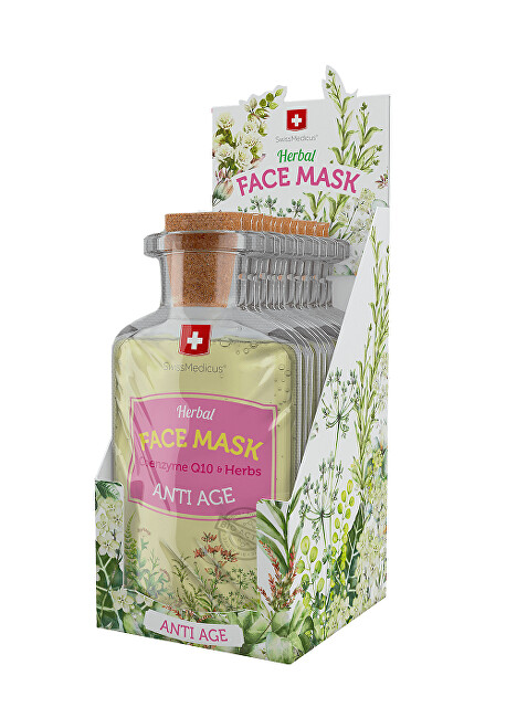 Swissmedicus Herbal Face Mask -  Anti Age 24 x 17 ml