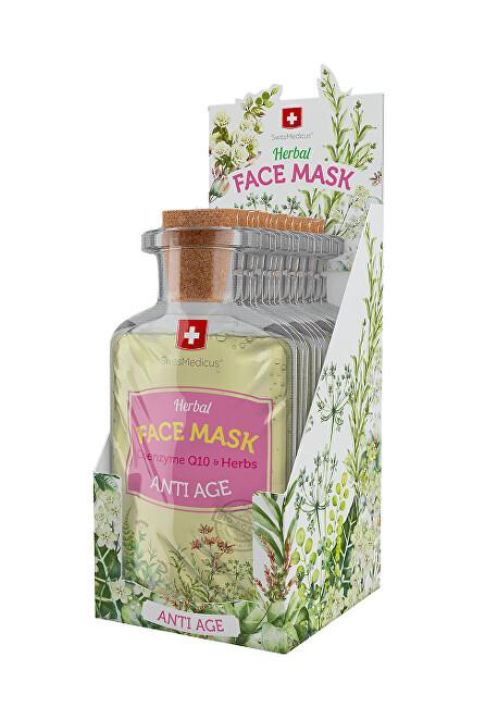 Zobrazit detail výrobku Swissmedicus Herbal Face Mask -  Anti Age 24 x 17 ml