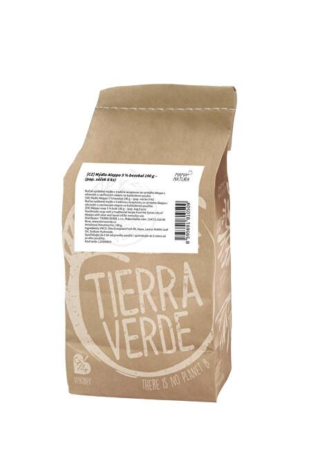 Tierra Verde Mýdlo Aleppo 5 % (v krabičce 190 g)