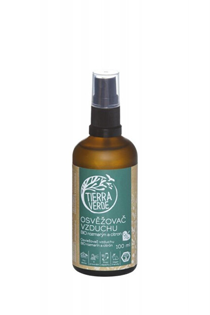 Zobrazit detail výrobku Tierra Verde Osvěžovač vzduchu – BIO rozmarýn a citron 100 ml