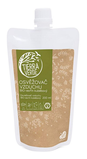 Zobrazit detail výrobku Tierra Verde Osvěžovač vzduchu – BIO vavřín kubébový - náhradní náplň 200 ml