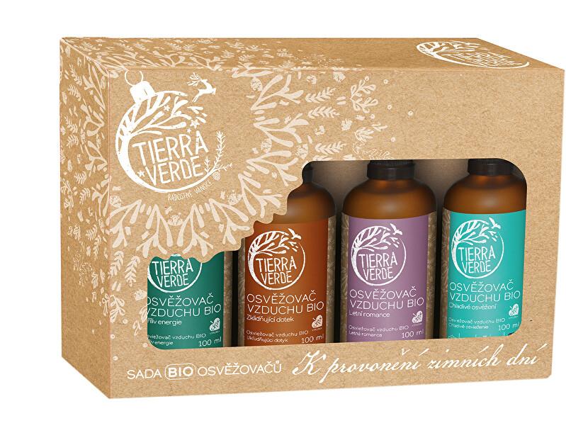 Zobrazit detail výrobku Tierra Verde Sada BIO osvěžovačů – K provonění zimních dní (krabička 4 ks)
