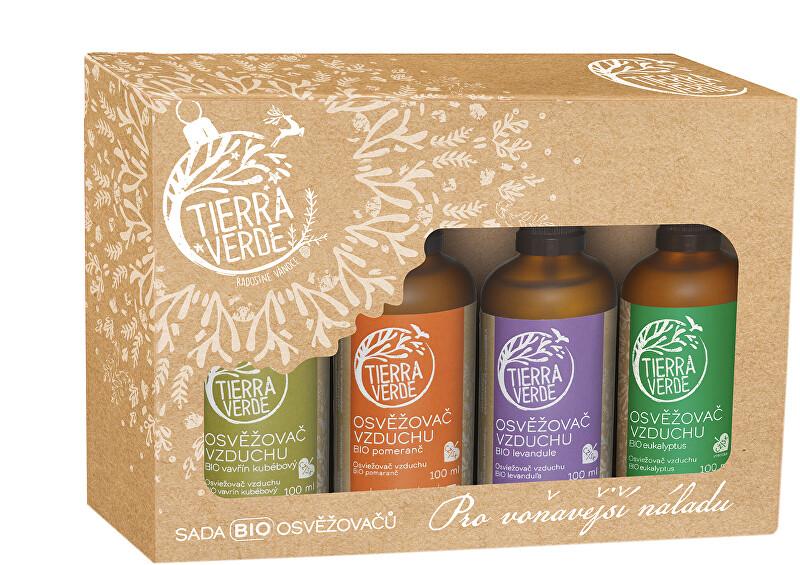 Zobrazit detail výrobku Tierra Verde Sada BIO osvěžovačů – Pro voňavější náladu (krabička 4 ks)
