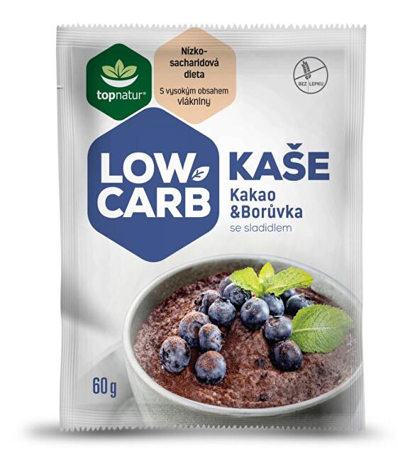 Zobrazit detail výrobku Topnatur LOW CARB kaše kakao & borůvka 25 x 60 g