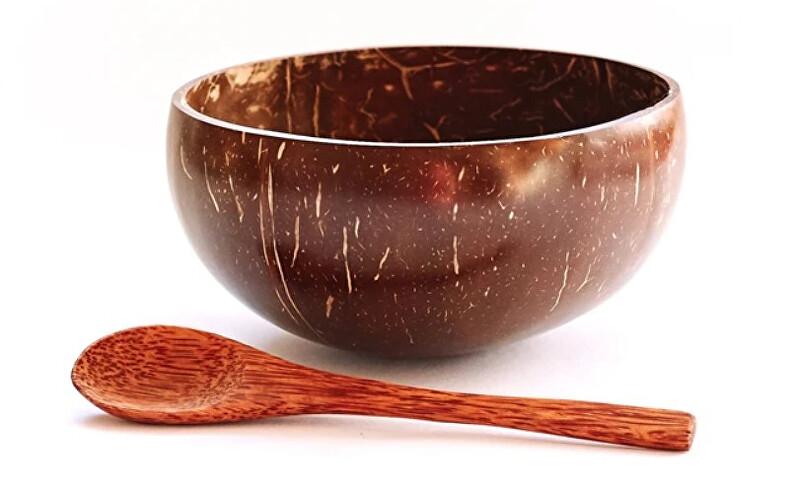 Zobrazit detail výrobku Tropikalia Kokosová miska natura M se lžící