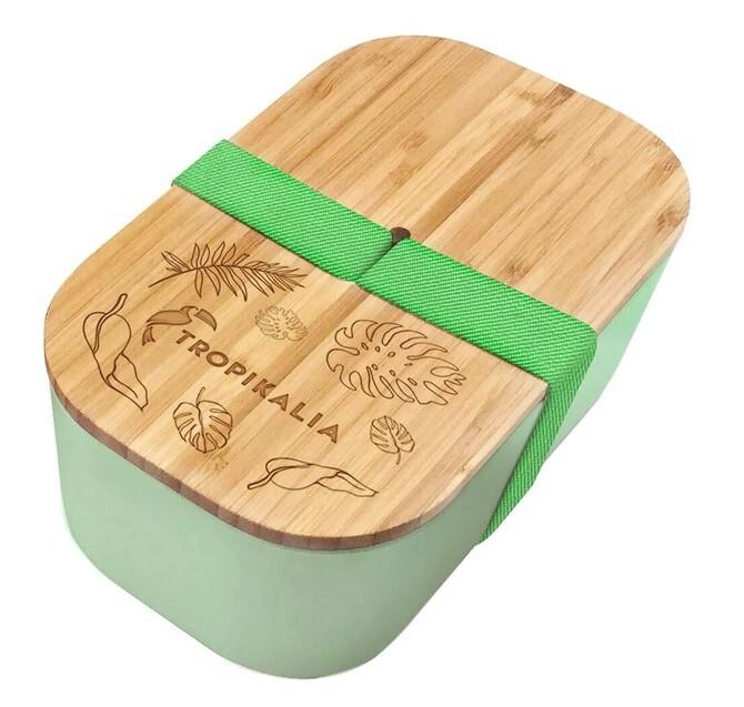 Zobrazit detail výrobku Tropikalia Lunch box ECO - Green s oddělovačem