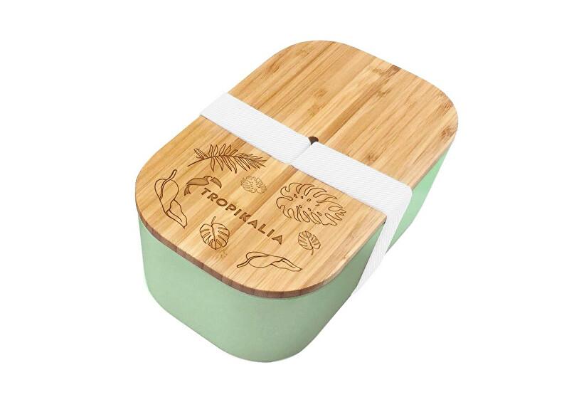 Zobrazit detail výrobku Tropikalia Lunch box L s oddělovačem - Mint