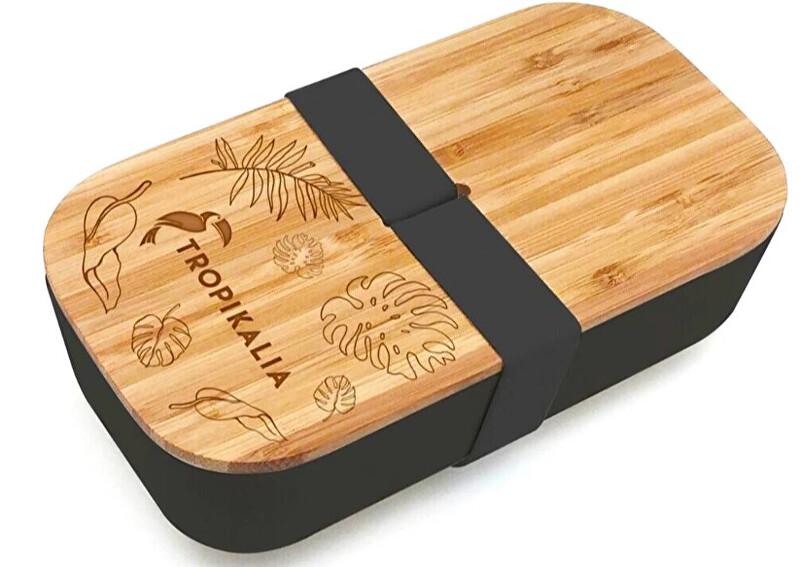 Zobrazit detail výrobku Tropikalia Lunch box M - Černý