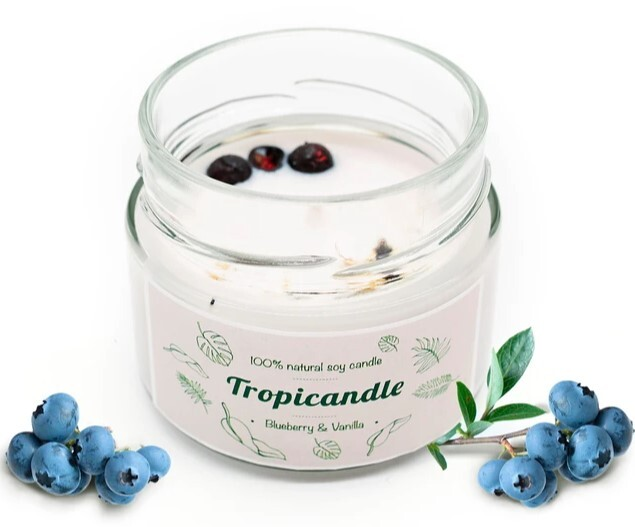 Zobrazit detail výrobku Tropikalia Tropicandle - Blueberry & vanilla