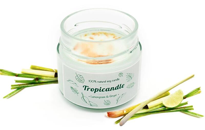 Zobrazit detail výrobku Tropikalia Tropicandle - Lemongrass & ginger