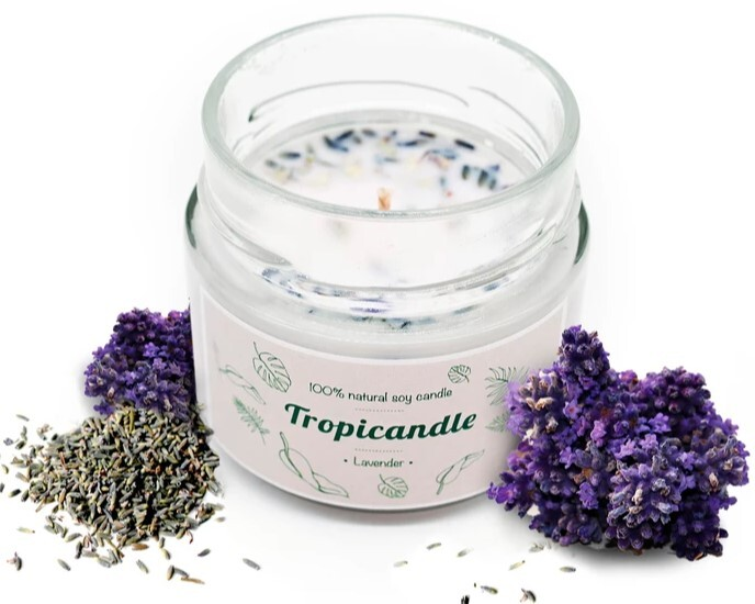 Zobrazit detail výrobku Tropikalia Tropicandle - Levander