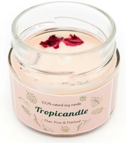 Zobrazit detail výrobku Tropikalia Tropicandle - Plum, rose & patchouli