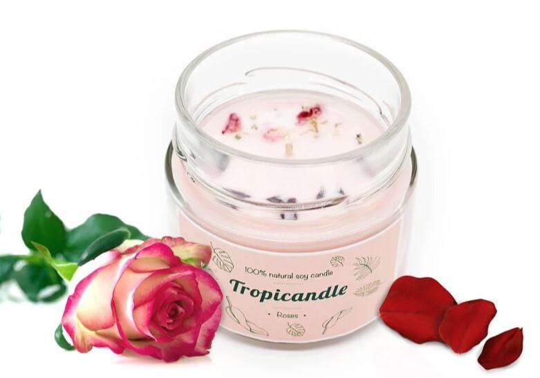 Zobrazit detail výrobku Tropikalia Tropicandle - Roses