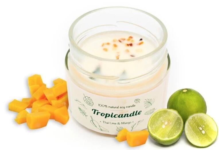 Zobrazit detail výrobku Tropikalia Tropicandle - Thai lime & mango