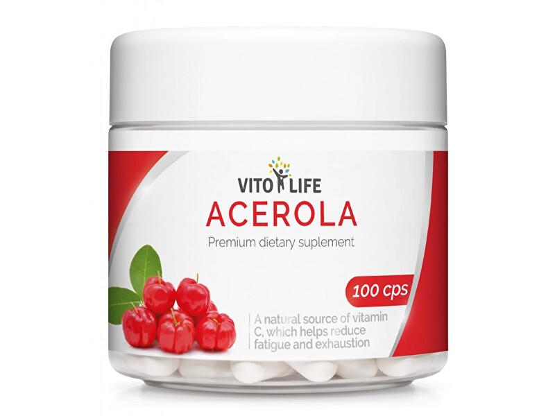 Zobrazit detail výrobku Vito life Acerola 500 mg, 100 tobolek
