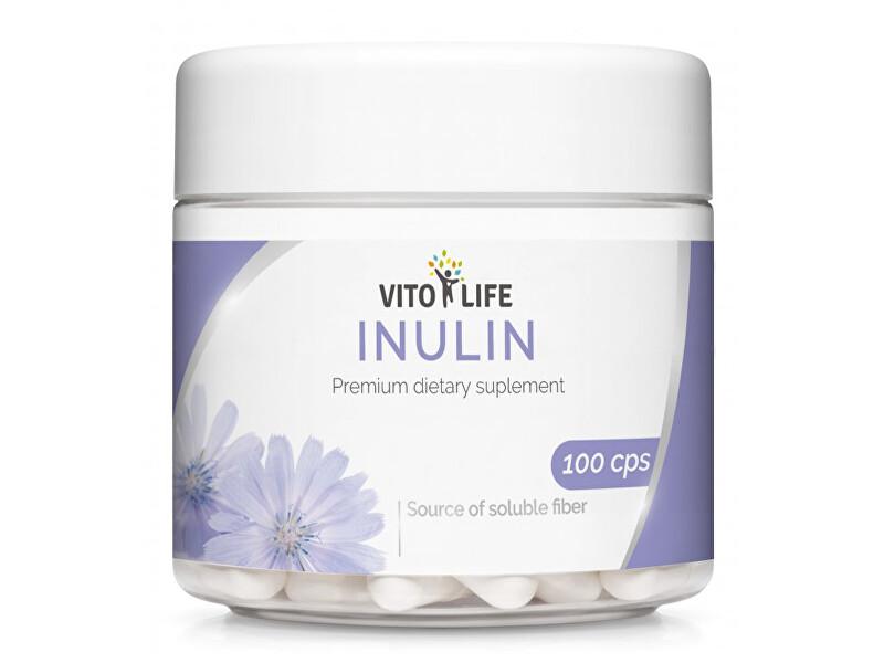Zobrazit detail výrobku Vito life Inulin 430 mg, 100 tobolek