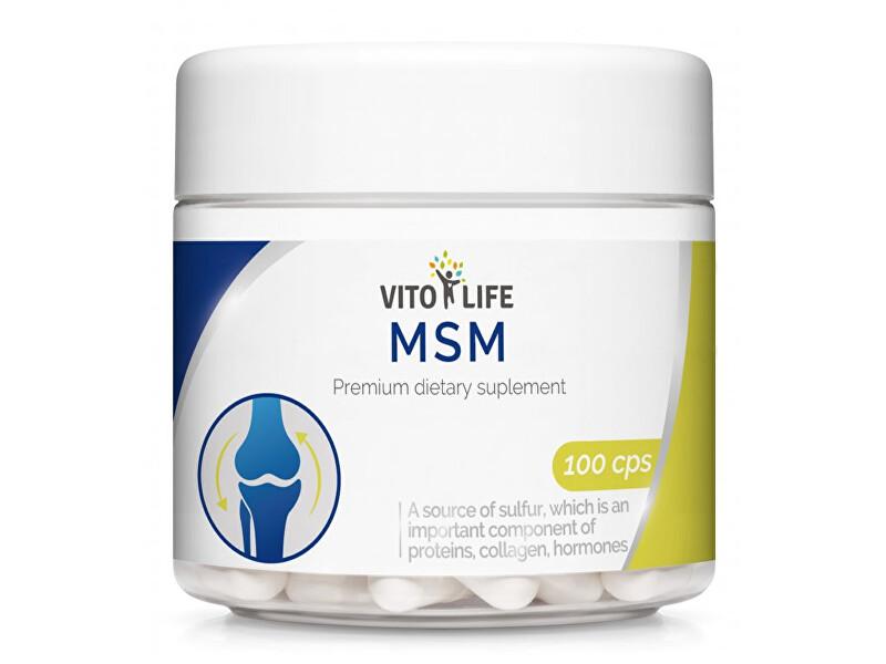 Zobrazit detail výrobku Vito life MSM 430 mg, 100 tobolek