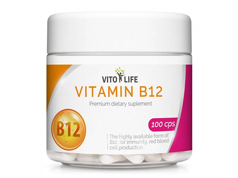 Zobrazit detail výrobku Vito life Vitamín B12 1000 mcg, 100 tobolek