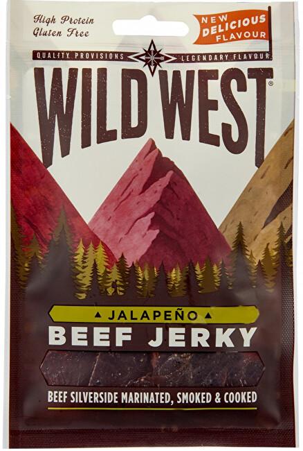 Zobrazit detail výrobku Wild West Beef Jerky Jalapeno 25 g