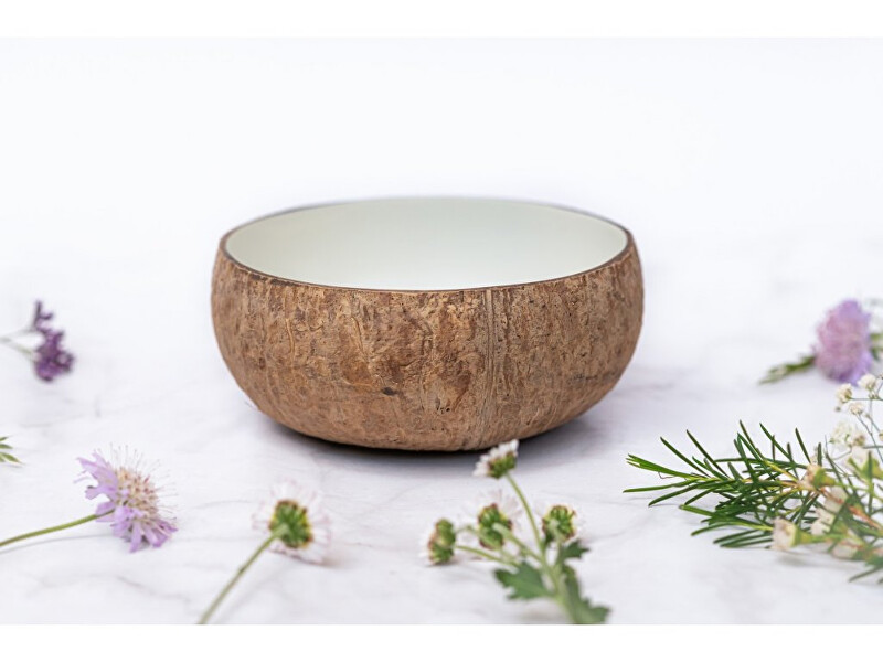 Zobrazit detail výrobku zKokosu Kokosová miska NATURAL BÍLÁ