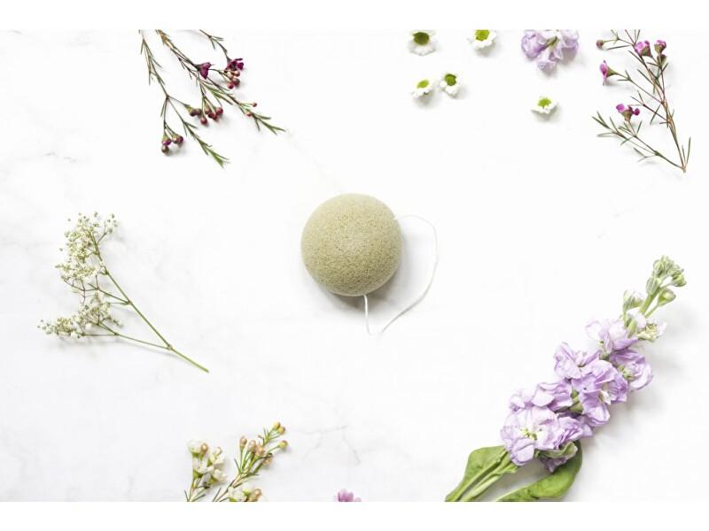 Zobrazit detail výrobku zKokosu Konjaková houbička ZELENÝ ČAJ