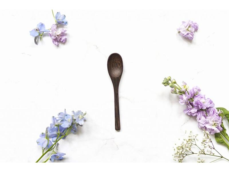 Zobrazit detail výrobku zKokosu Lžíce z ebenového dřeva