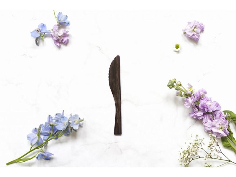 Zobrazit detail výrobku zKokosu Nůž z ebenového dřeva