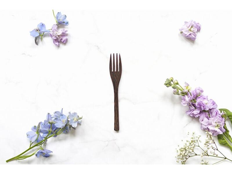 Zobrazit detail výrobku zKokosu Vidlička z ebenového dřeva