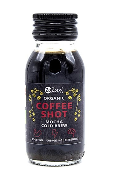 ZoZozial Coffee shot mocha BIO 60 ml