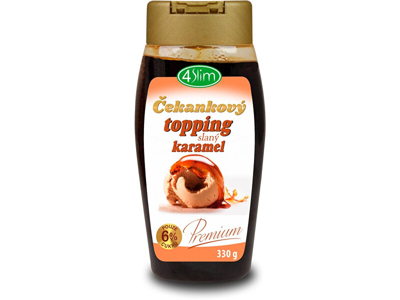 Zobrazit detail výrobku 4Slim Topping slaný karamel 330g