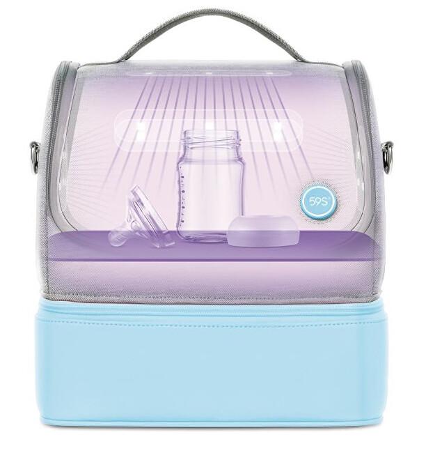 Zobrazit detail výrobku 59S 59S UV-C Univerzální sterilizační taška s odděleným úložným prostorem P14 - blue