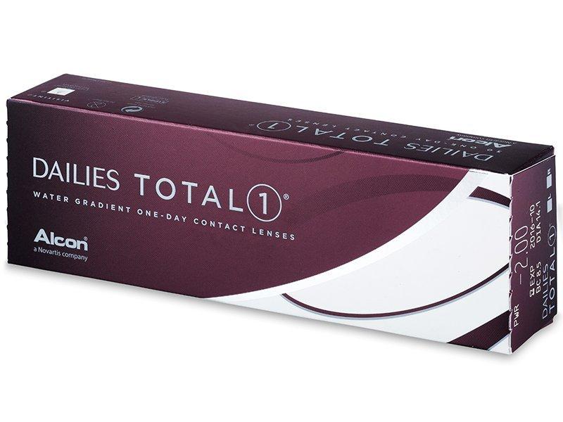 Zobrazit detail výrobku Alcon Dailies Total 1 30 čoček -0,75